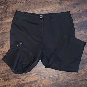 Cute Rafaella curvy black capris size 16 pants